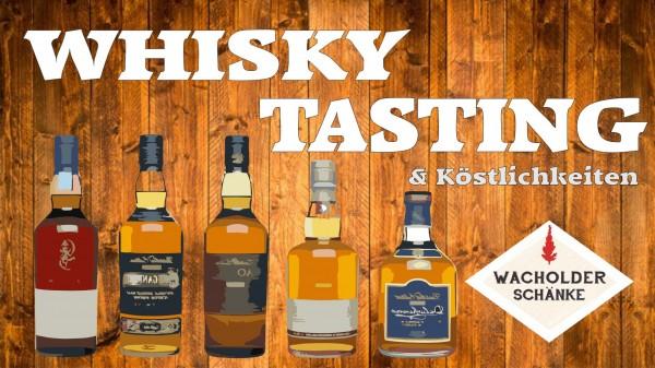 Whiskytasting & Köstlichkeiten 12.11.2020