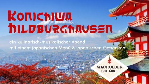 Japanischer Genießerabend 01.10.2020